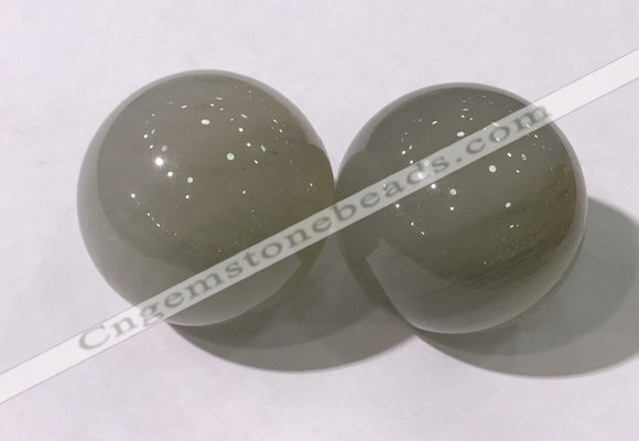 CDN1318 40mm round gemstone decorations wholesale