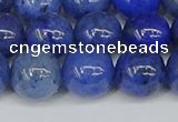 CDU344 15.5 inches 12mm round blue dumortierite beads wholesale