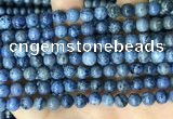 CDU367 15.5 inches 6mm round dumortierite gemstone beads