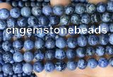 CDU368 15.5 inches 8mm round dumortierite gemstone beads