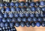 CDU370 15.5 inches 12mm round dumortierite gemstone beads