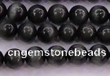CEE502 15.5 inches 8mm round AAA grade green eagle eye jasper beads