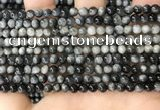 CEE540 15.5 inches 4mm round eagle eye jasper gemstone beads