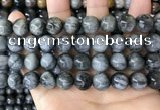 CEE544 15.5 inches 12mm round eagle eye jasper gemstone beads