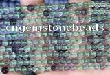 CFL1150 15.5 inches 4mm round fluorite gemstone beads