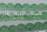 CFL603 15.5 inches 10mm round AB grade green fluorite beads wholesale