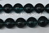 CFL674 15.5 inches 12mm round A grade blue fluorite beads wholesale