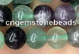 CFL925 15.5 inches 8mm round fluorite beads wholesale