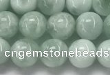 CGA901 15.5 inches 6mm round green angel skin gemstone beads