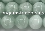 CGA902 15.5 inches 8mm round green angel skin gemstone beads