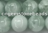 CGA903 15.5 inches 10mm round green angel skin gemstone beads