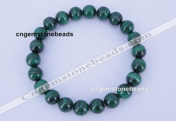 CGB221 2pcs 7.5 inches 16mm natural malachite gemstone bracelets