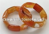CGB3203 7.5 inches 18*29mm agate gemstone bracelets wholesale