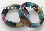 CGB3207 7.5 inches 18*29mm agate gemstone bracelets wholesale