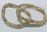 CGB4056 7.5 inches 7mm round moonstone beaded bracelets