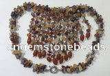 CGN830 20 inches stylish mixed gemstone statement necklaces