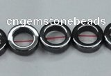 CHE1015 15.5 inches 12mm donut hematite beads wholesale