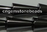 CHE171 15.5 inches 10*20mm cone hematite beads wholesale