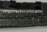 CHE181 15.5 inches 4*4mm cube hematite beads wholesale