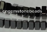 CHE237 15.5 inches 3*7mm triangle hematite beads wholesale