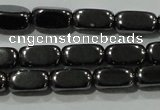 CHE248 15.5 inches 4*8mm cuboid hematite beads wholesale