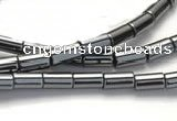 CHE62 15.5 inches 4*13mm column shape hematite beads Wholesale