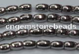 CHE794 15.5 inches 3*5mm rice plated hematite beads wholesale