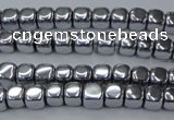 CHE866 15.5 inches 4*4mm dice platedhematite beads wholesale