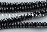 CHE961 15.5 inches 1.5*3mm rondelle hematite beads wholesale