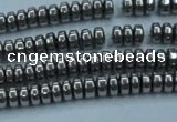 CHE962 15.5 inches 1.5*3mm rondelle plated hematite beads wholesale