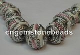 CIB110 18mm round fashion Indonesia jewelry beads wholesale