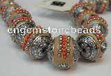 CIB112 18mm round fashion Indonesia jewelry beads wholesale