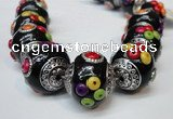 CIB154 21mm round fashion Indonesia jewelry beads wholesale