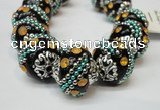 CIB180 18mm round fashion Indonesia jewelry beads wholesale