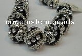CIB181 18mm round fashion Indonesia jewelry beads wholesale