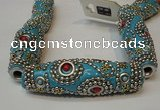 CIB19 17*60mm rice fashion Indonesia jewelry beads wholesale