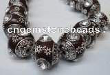 CIB194 19mm round fashion Indonesia jewelry beads wholesale