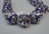 CIB222 18mm round fashion Indonesia jewelry beads wholesale