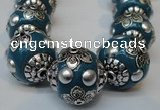 CIB224 18mm round fashion Indonesia jewelry beads wholesale