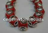CIB234 14mm round fashion Indonesia jewelry beads wholesale