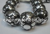 CIB244 18mm round fashion Indonesia jewelry beads wholesale
