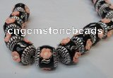 CIB263 17*18mm drum fashion Indonesia jewelry beads wholesale