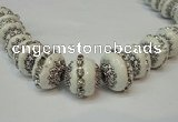 CIB270 14*16mm rondelle fashion Indonesia jewelry beads wholesale