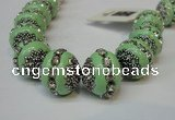 CIB271 14*16mm rondelle fashion Indonesia jewelry beads wholesale