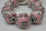 CIB280 16*16mm rondelle fashion Indonesia jewelry beads wholesale