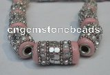 CIB291 13*25mm drum fashion Indonesia jewelry beads wholesale