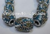 CIB301 15*20mm drum fashion Indonesia jewelry beads wholesale