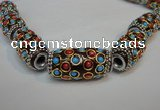 CIB337 17*33mm drum fashion Indonesia jewelry beads wholesale