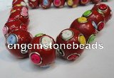 CIB350 20mm round fashion Indonesia jewelry beads wholesale