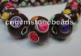 CIB351 20mm round fashion Indonesia jewelry beads wholesale
